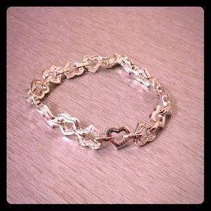 VTG Heart Bracelet